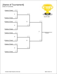 single-elimination-tournament-bracket